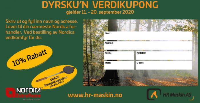 Svarslipp Nordica